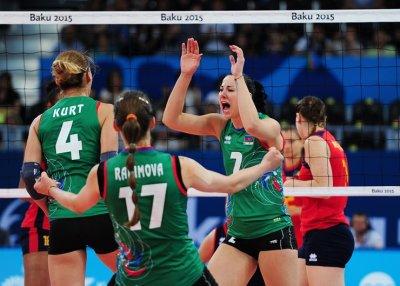 Азербайджанские волейболистки стартовали на Евроиграх с победы над командой Румынии