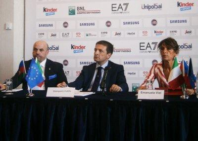 В Баку прошел вечер итальянской моды, посвященный Евроиграм