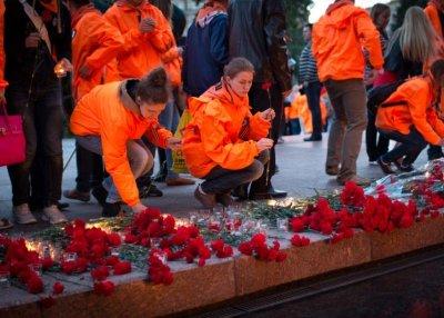 Тысячи москвичей приняли участие в «Вахте памяти»