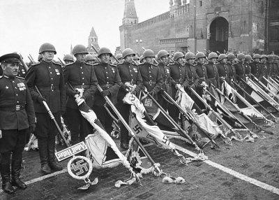 В Москве отметили 70-летие Парада Победы